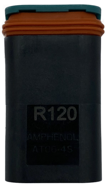 CAN Abschlusswiderstand 120 Ohm AT06-4S Pins II-R-IV