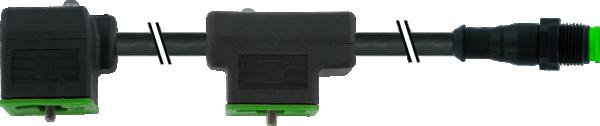 M12 St. 0° auf MSUD Doppelventilst. BF A 18mm