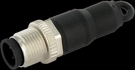 M12 Stecker Brückstecker Pin 4 8 auf Pin 5 7