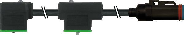 MDC06-4S - MSUD Doppelvent. BF BI 11 mm Pins II- -1, IV-1-, III-2-2