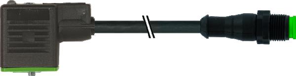 M12 Lite St. 0° auf MSUD Ventilst. BF BI 11 mm V2A