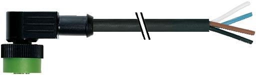 MQ12 Bu. 90° mit freiem Leitungsende
